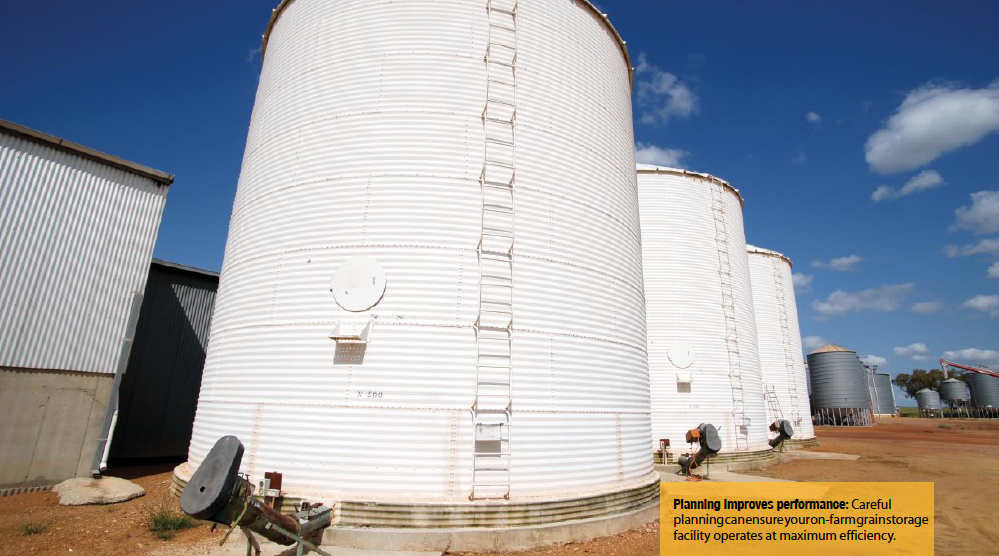 Planning improves performance: careful planning can ensure your on-farm grain storage facility operates at maximum efficiency.