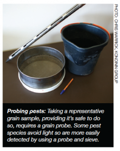 Probing Pests