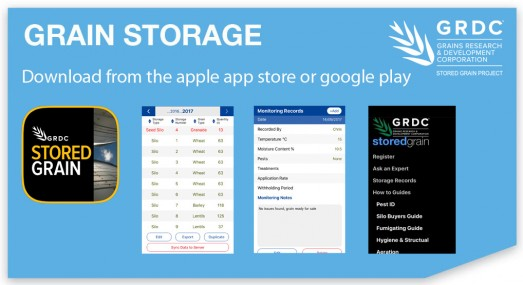 Stored Grain | Information Hub for Grain Storage, Quality