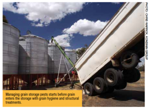 Stored Grain Hygiene treatment