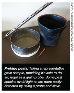 Probing Pests