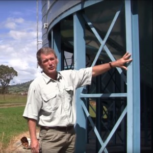 Stored Grain silos for fumigation video