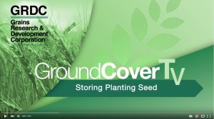 Stored Grain Planting seed video