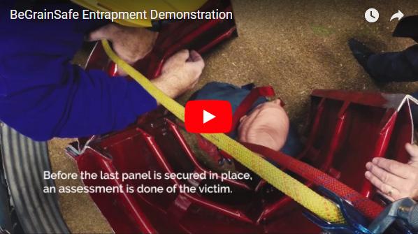 Stored Grain Entrapment video