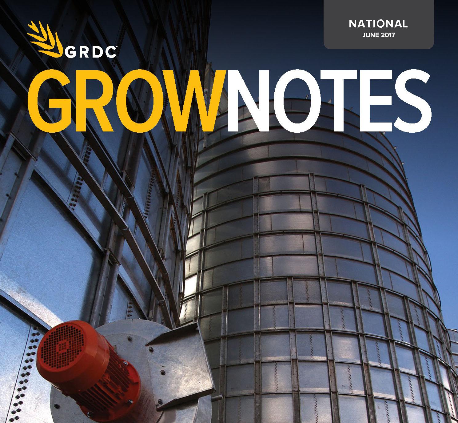 Grain storage grow notes