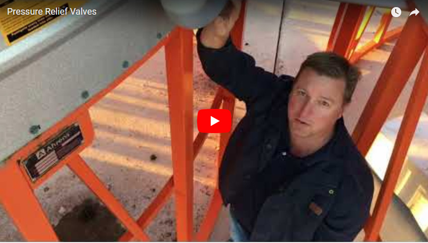 Stored Grain Relief valve video