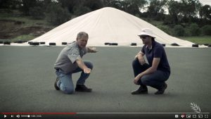 Stored Grain bunkers video