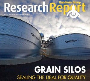 Grain Storage Kondinin Group Research Report 2018